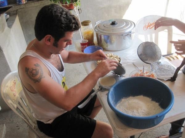 Learning to make empanadas